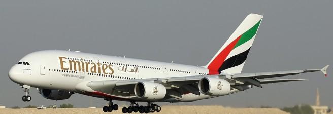 Emirates – Premier A380 vers Amsterdam